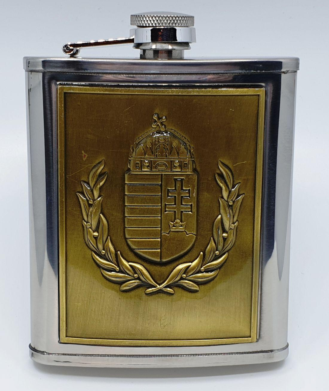 Flaska - Magyar címeres