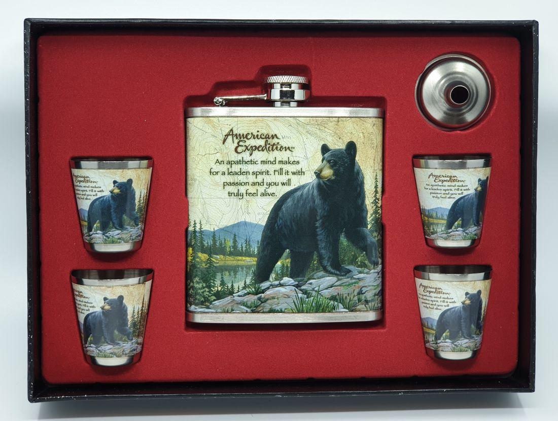 Flaska szett - Medve