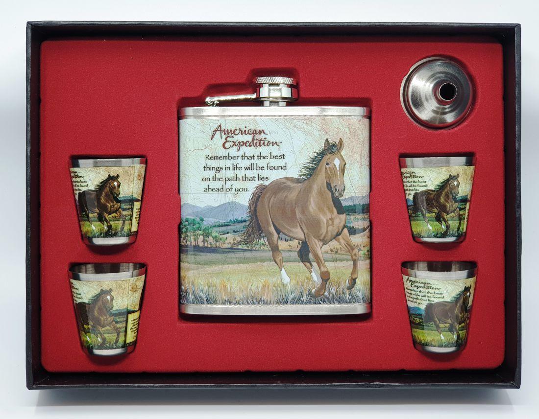 Flaska szett - Ló