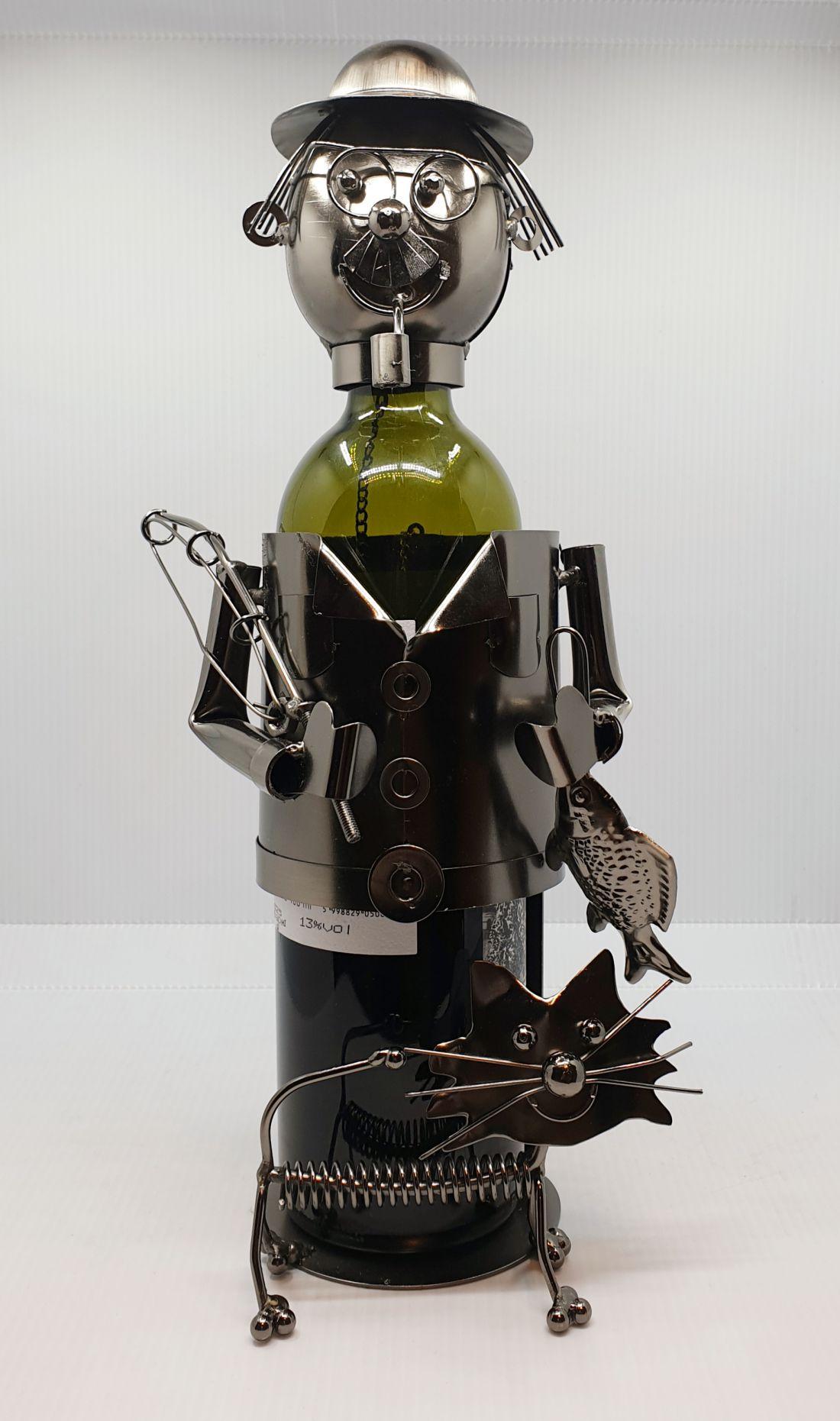 Fém bortartó - Horgász